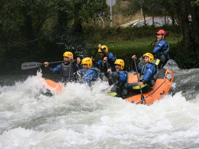 Rafting Advanced Level in river Ebro 3h 30'