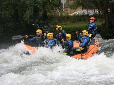 Rafting di livello avanzato sul fiume Ebro 3 ore e mezza