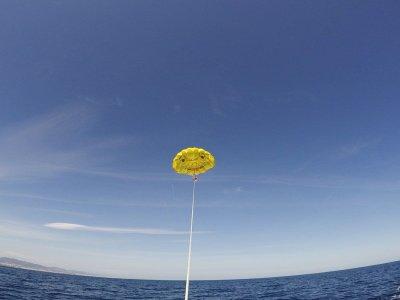 Promoción verano parasailing Barcelona 15 minutos