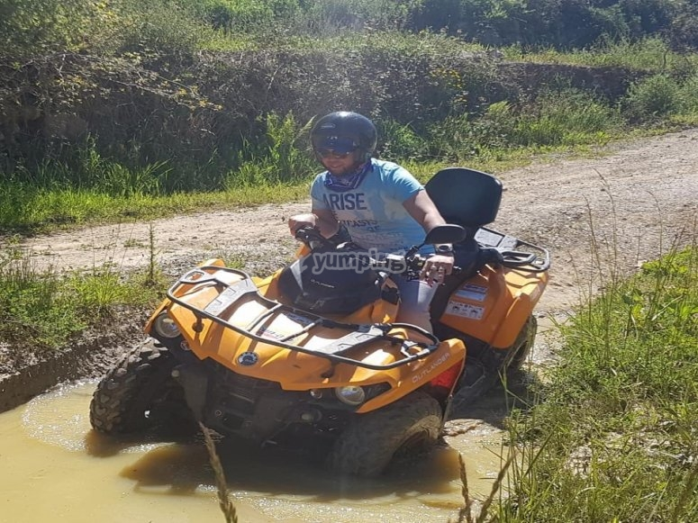 100% off road quad ride