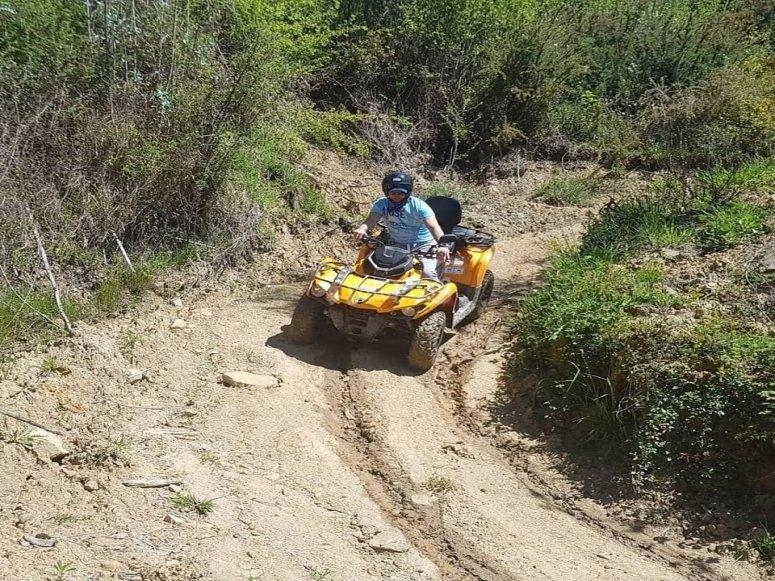 1h quad tour Villaviciosa