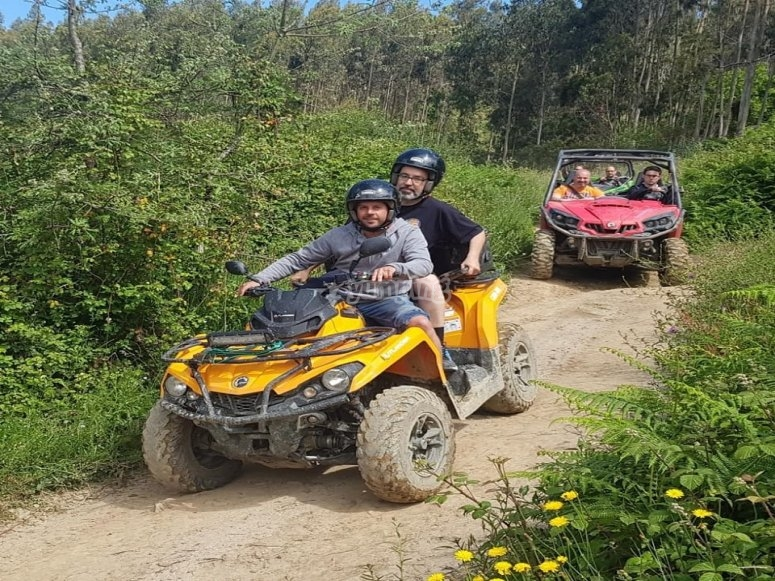 Quad route on private land Asturias