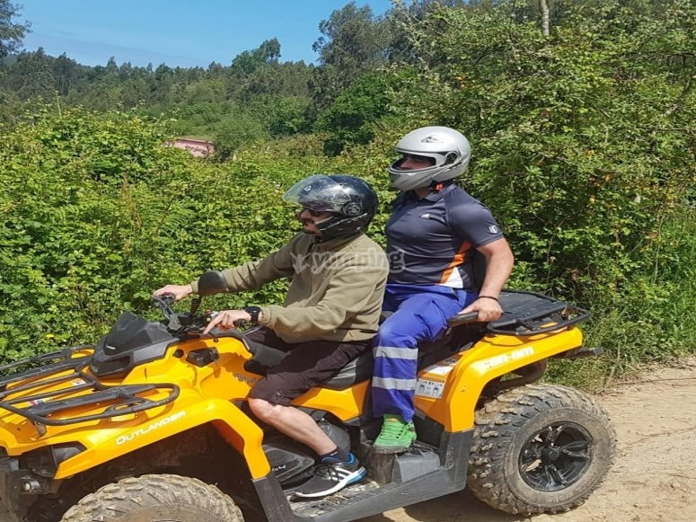 Two-seater quad Villaviciosa 60 minutes