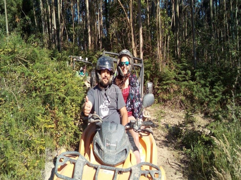 Mixed quad and buggy excursion