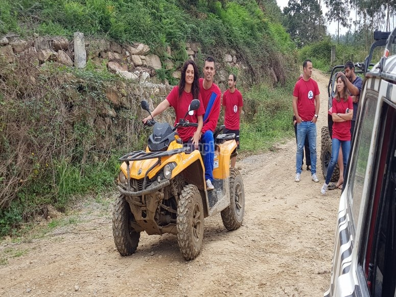 1-hour quad bike route through Gijón