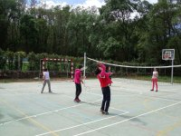 Partido de badminton