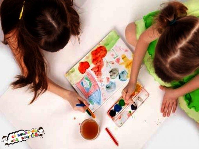 Taller de pintura para niños Granada