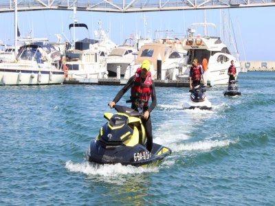 Pack Jet Ski y Parasailing puerto Barcelona 2 pax