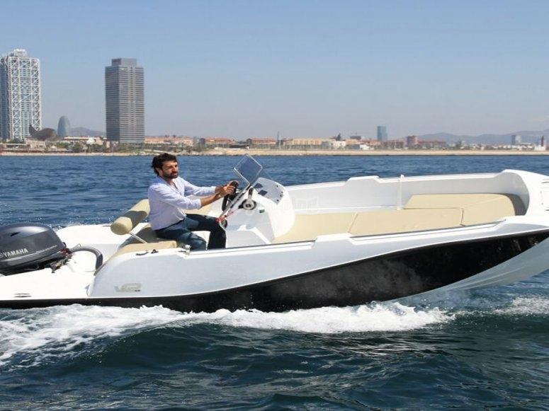 Noleggio barche 6 persone Barcellona