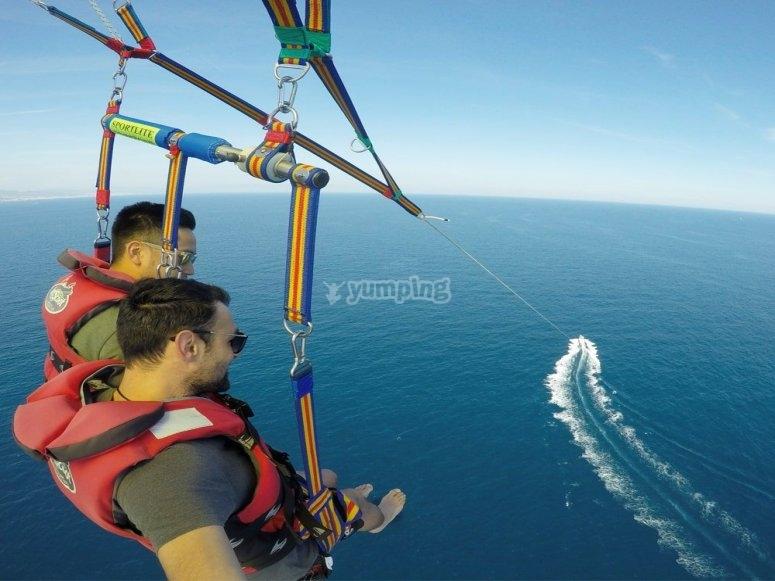 Parasailing Port Barcelona 15 minutos