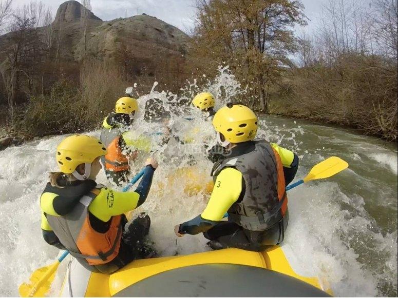 Water activities summer camp