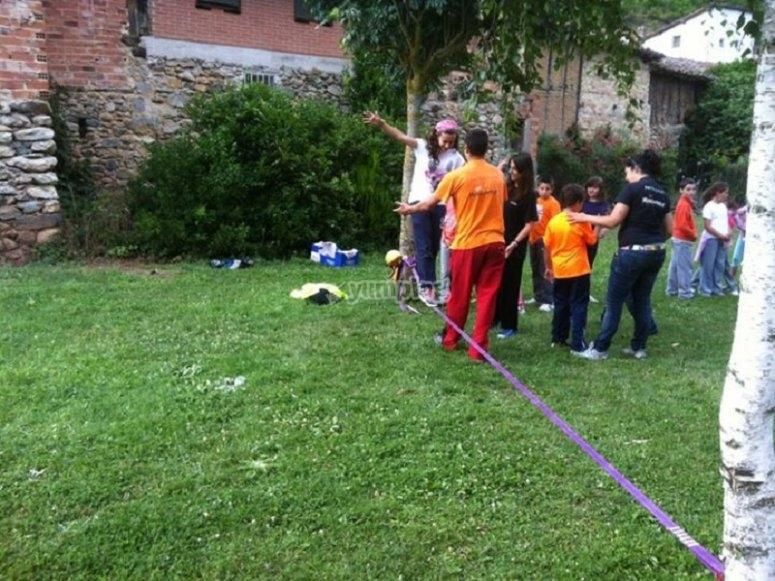 Camp activities in La Rioja