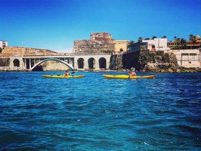 Ruta en kayak Castillo del Desnarigado 2 horas