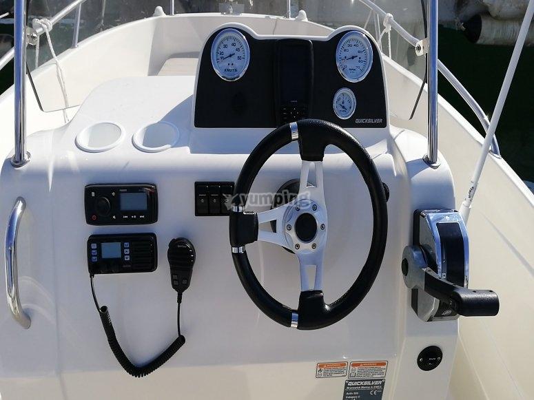 乘船游览Costa del Garraf