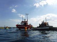 Paseo en kayak pesca Ceuta
