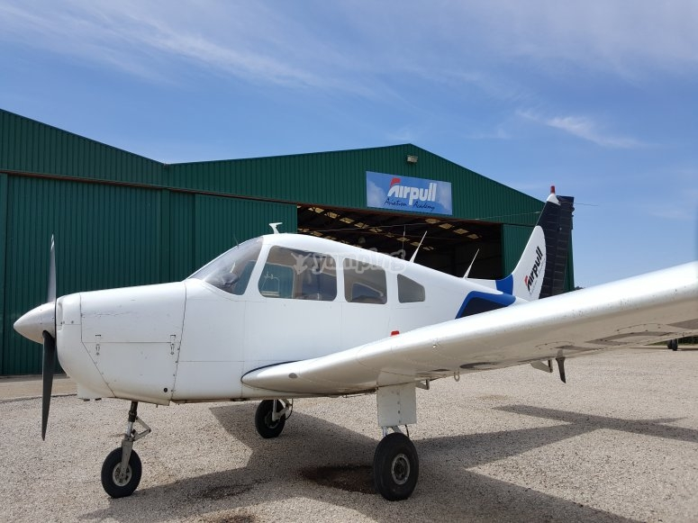 Light aircraft flight in Requena 60 minutes