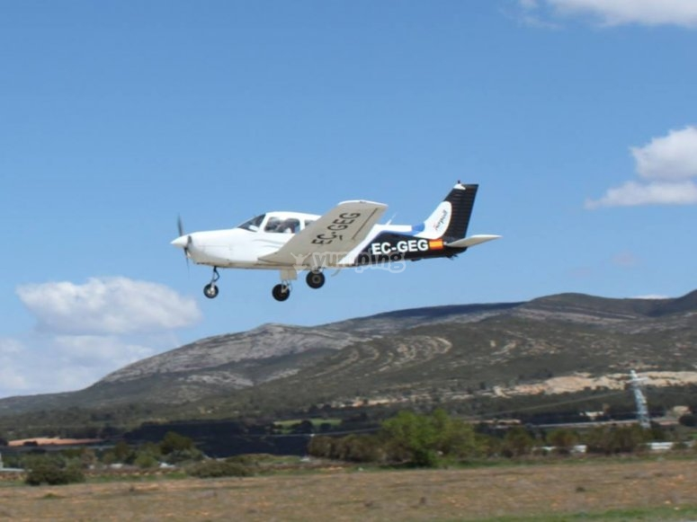 Flying class 1 hour Requena
