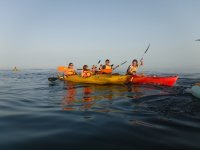 Ruta en kayak mar abierto Ceuta