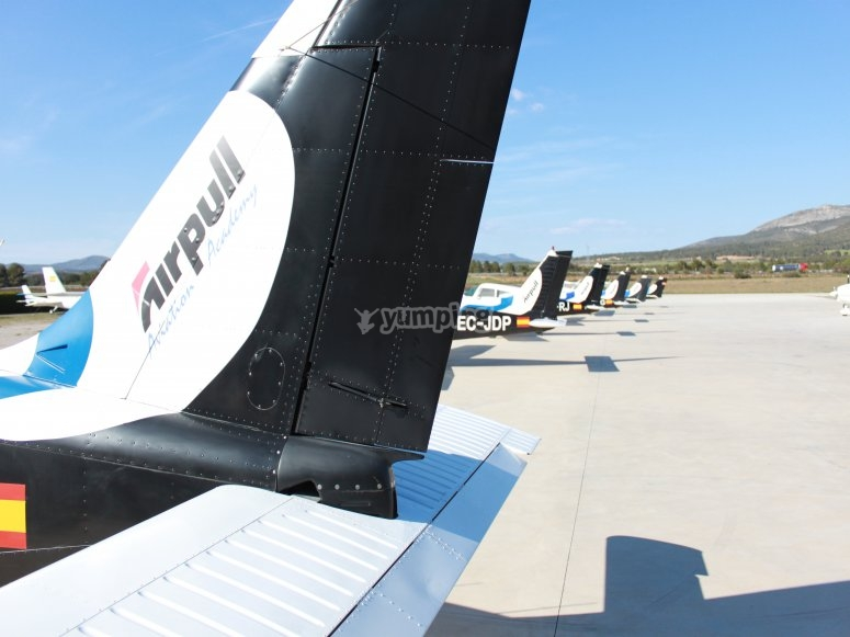Cola de avión