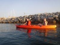 Puerto de Ceuta en kayak