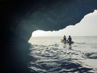 Excursión en kayak desde La Herradura niños 2h 30