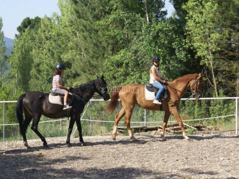 Paseo a caballo en Albacete
