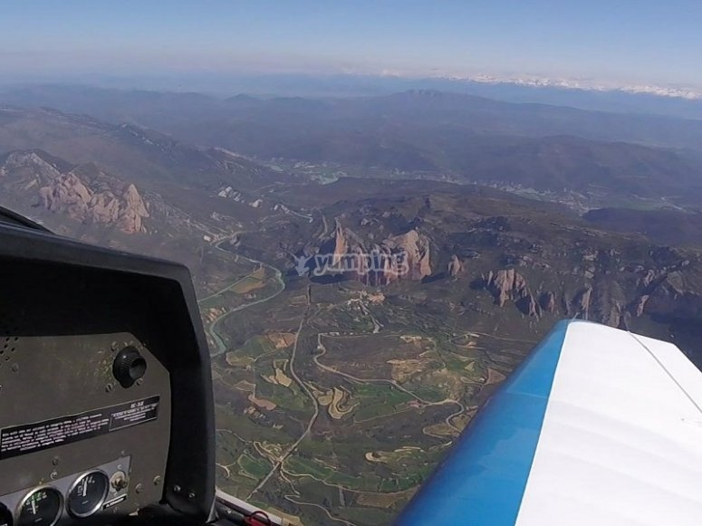 Flight across the Pyrenees