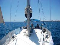 vacaciones en velero