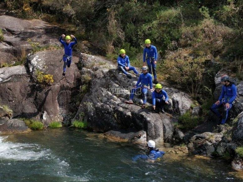 Canyoning in Pontevedra