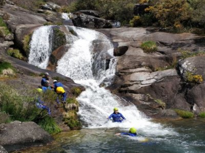 Canyoning route Cavadosa beginners level 4 hours