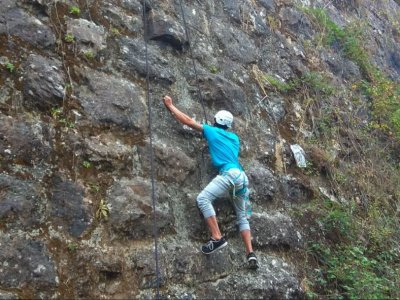 Climbing route Silleda beginners level 2 h