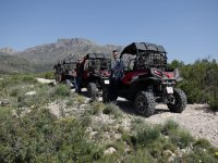 Buggy departure through Callosa