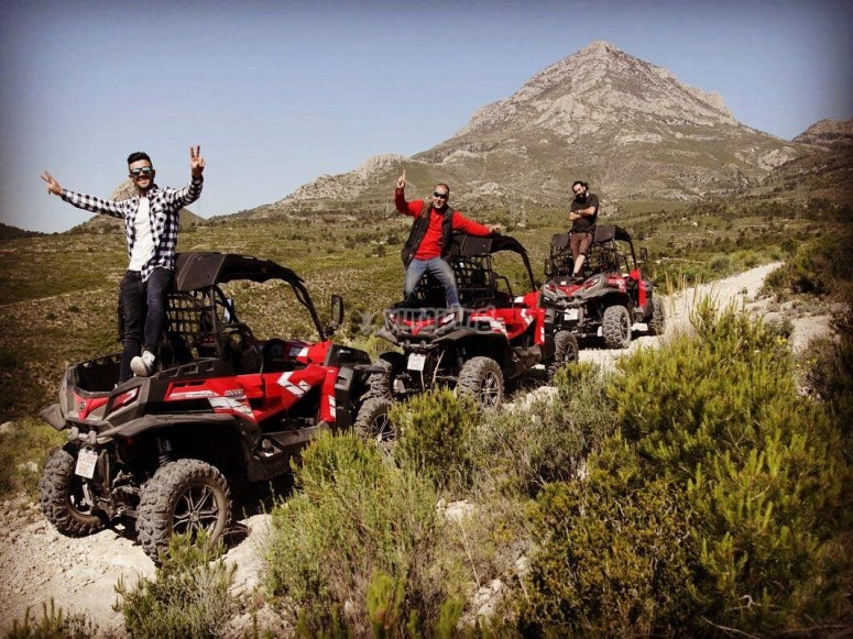 Buggy expedition Callosa 3 hours