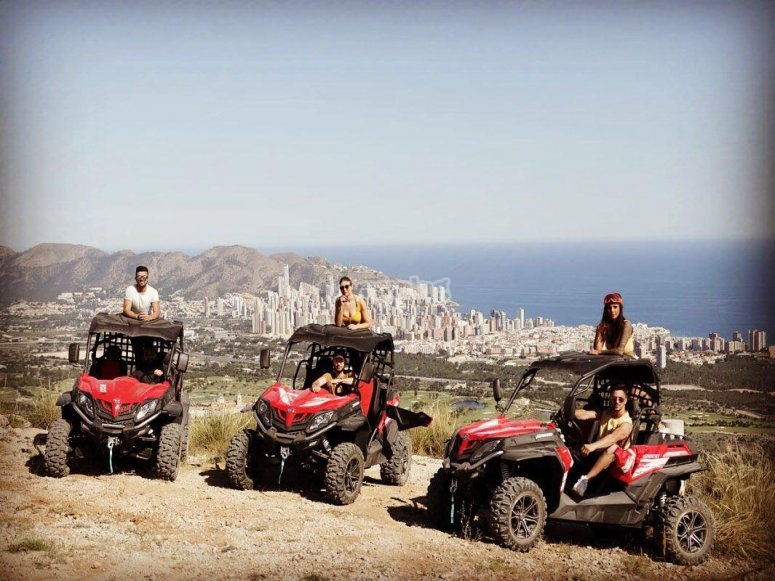 Buggy ride for Villajoyosa groups