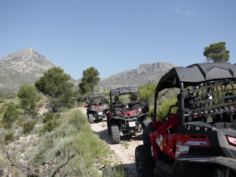 Buggy tour from Villajoyosa 3 hours