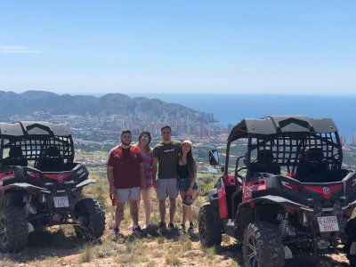 Two-seater buggy trip Las Fuentes del Algar 3h