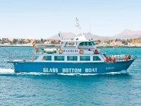 Paseo en barco por Corralejo