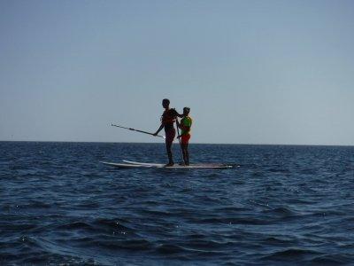 Travesía en Paddle Surf Playa de San Amaro