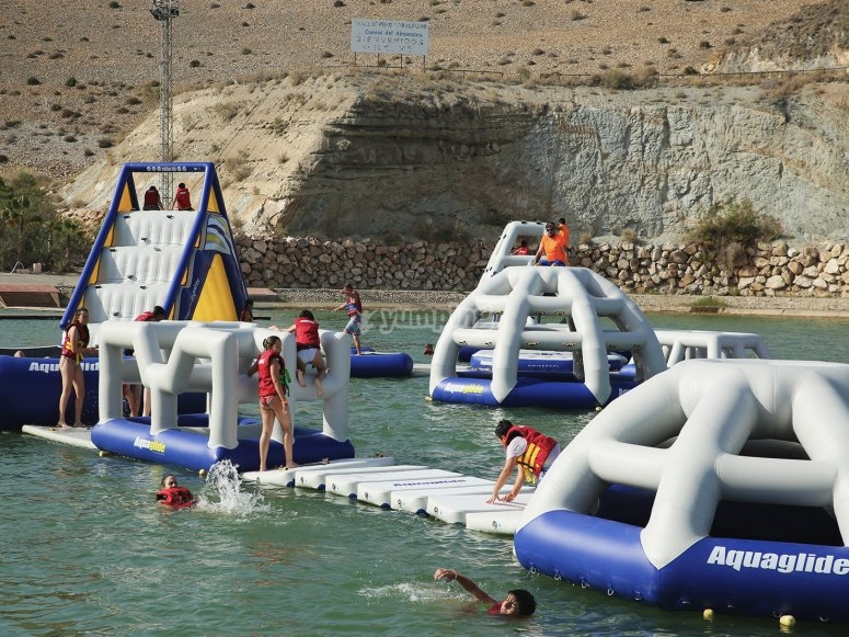 Aquaglide for children in Almería