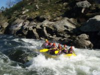 Descenso en balsa de rafting