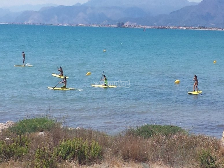 SUP course in Cullera