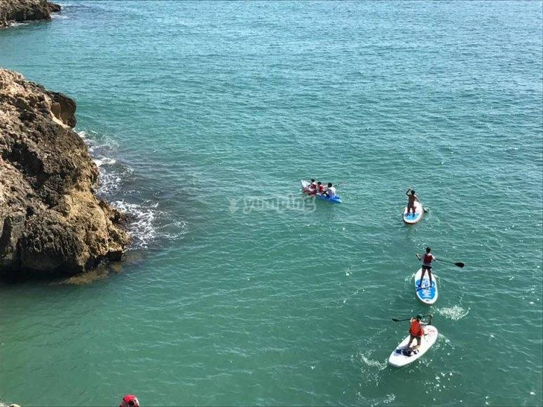 Escuela de verano en Cullera deportes acuáticos