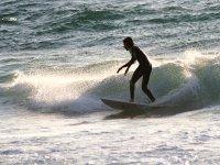 Saliendo de la ola