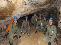 Espeleología Cueva de Coventosa Team building