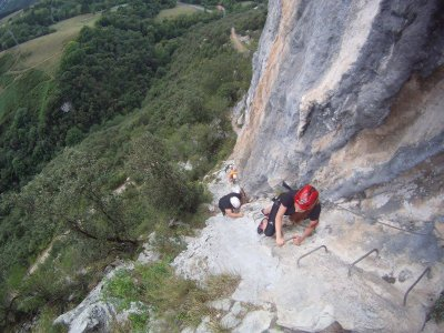 Via Ferrata El Caliz 2 hoours for Team Building