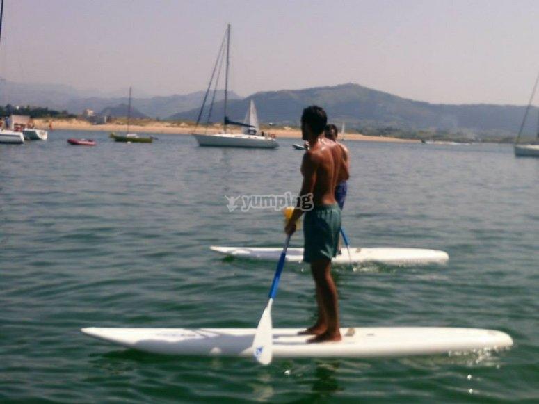 Paddle surf en Cantabria
