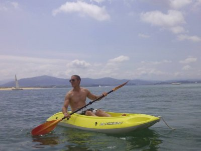 Kayak tour in Santander beaches 2 hours
