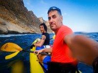 Selfie en el mar
