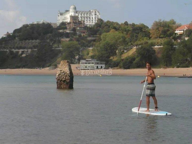 Paddle surf en Santander