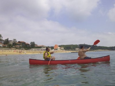 Canoe rental 1 & 2 seats Santander 1 hour